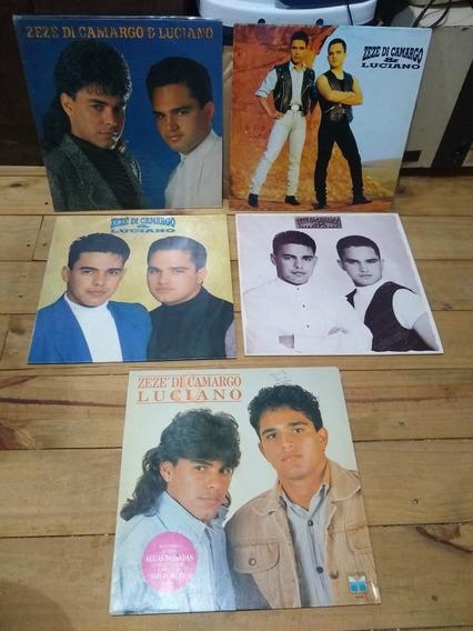 Discos De Vinil Zezé Di Camargo E Luciano - Lote