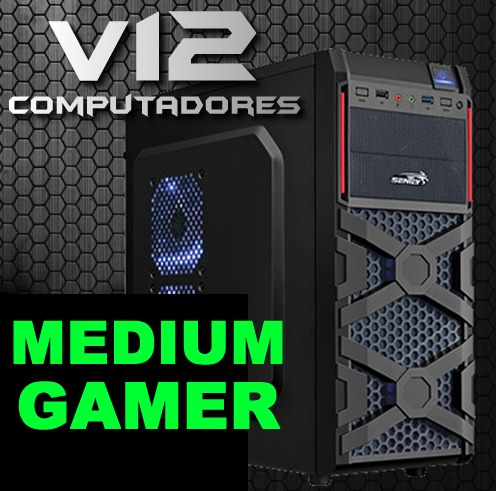 Ent.60% Computador Pc Gamer Core I3 4150 Hd 1tb 1600mhz V12