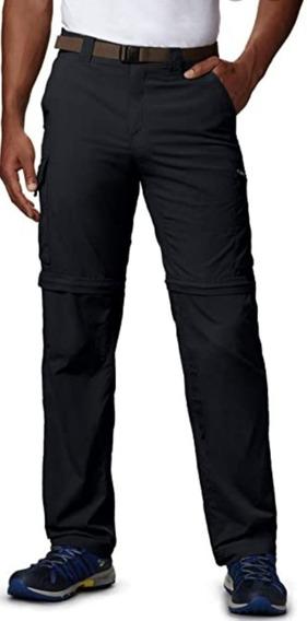 Pantalon Columbia Desmontable Silver Ridge Hombre