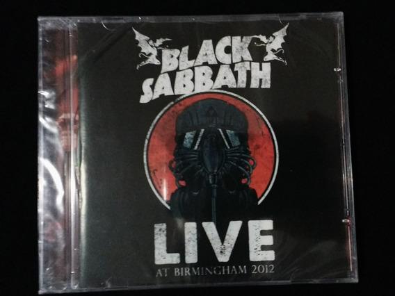 Cd Black Sabbath - Live At Birmingham 2012 - Novo, Lacrado