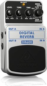 Pedal Behringer P/ Guitarra Digital Reverb Dr600 + Garantia!
