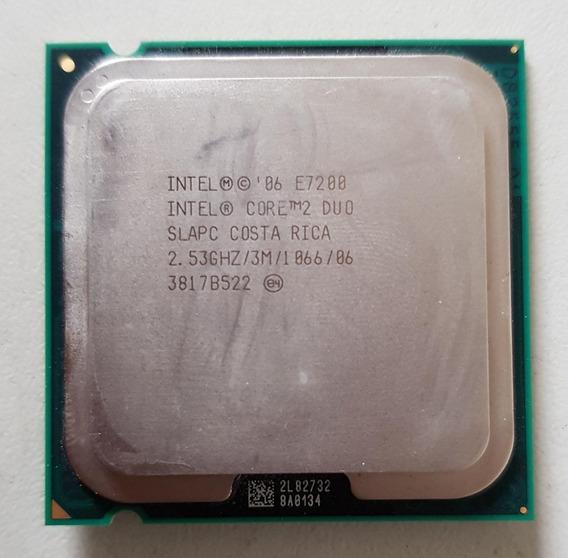 Processador 775 Intel Core 2 Duo E7200 2,53 Usado Ref: 01504
