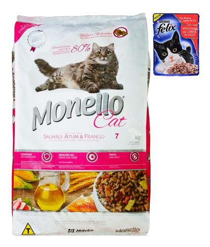 Alimento Para Gato Monello Premium Cat 7 Kg + Regalo + Envío