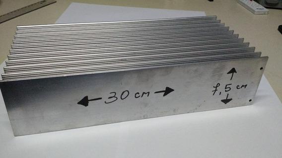Dissipador Em Aluminio 30x7,5x13,5 Com 3.6 Kg