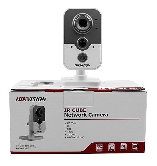 Camera Ip Cube Network Hikvision 720p Ir 10 Mts (nao É Wifi)