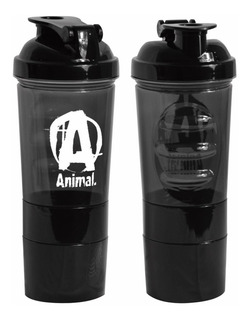 Shaker 3 En 1 Termo Mezclador Animal 600ml Proteina Bcaa