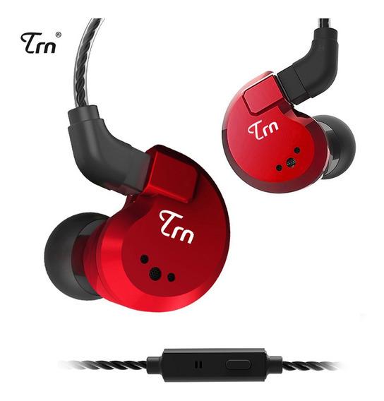 Trn V80 3.5mm In-ear Fones De Ouvido 2dd+2ba Híbrido Hifi Es