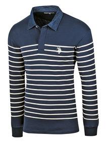 Camisa Casual U.s Polo Assn. Mu3030-217 Envio Gratis Dgt