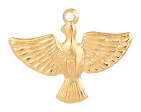 50 Pingente Divino Espírito Santo (pomba Da Paz) Pronta Entr