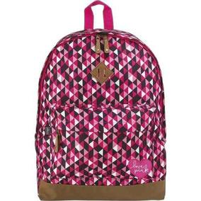 Mochila Escolar De Costas Tilibra Rosa Plus Love Pink