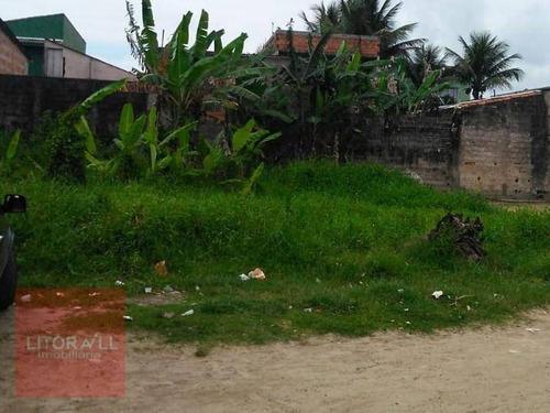 Imagem 1 de 6 de Terreno À Venda, 346 M² Por R$ 65.000,00 - Umuarama Parque Itanhaém - Itanhaém/sp - Te0359