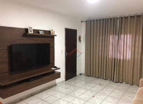 Imagem 1 de 9 de Sobrado Com 4 Dormitórios À Venda, 198 M² Por R$ 530.000,00 - Parque São Vicente - Mauá/sp - So0026