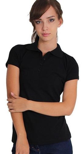 Blusa Camiseta Polo Para Dama En Algodón 190 Gramos