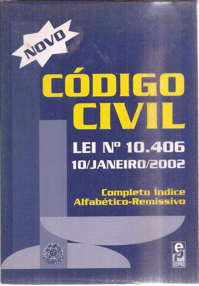 Novo Código Civil Lei Nº 10.406 Janeiro 2002 Completo Índice