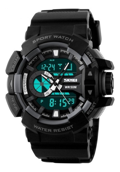 Relógio Masculino Esportivo Digital Militar Prova D