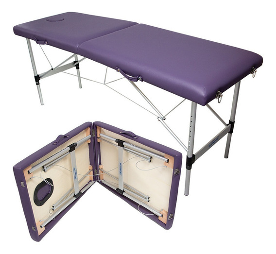 Cama Masaje Portatil Plegable Profesional Metalica Terapia