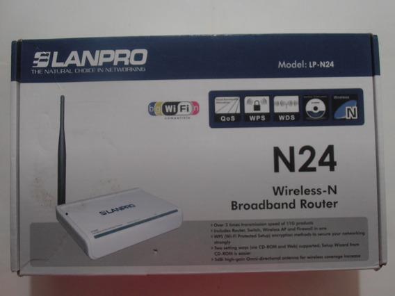 Router Lanpro Modelo : Lp N24