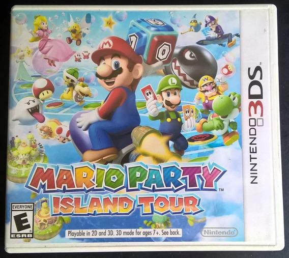Mario Party Island Tour - 3ds - Semi-novo - Original