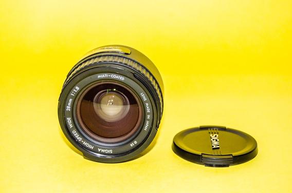 Lente Sigma 28mm 1:1.8 Ex Dg P/nikon