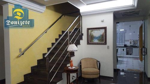 Sobrado Com 3 Dormitórios À Venda, 350 M² Por R$ 1.440.000,00 - Vila Pires - Santo André/sp - So1759