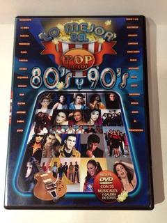 Dvd Lo Mejor Del Pop De Los 80