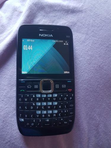 Celular Nokia E63 Em Perfeito Estado Sem Ca