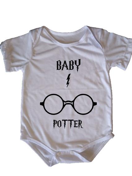 Body Infantil Harry Potter - Baby Potter