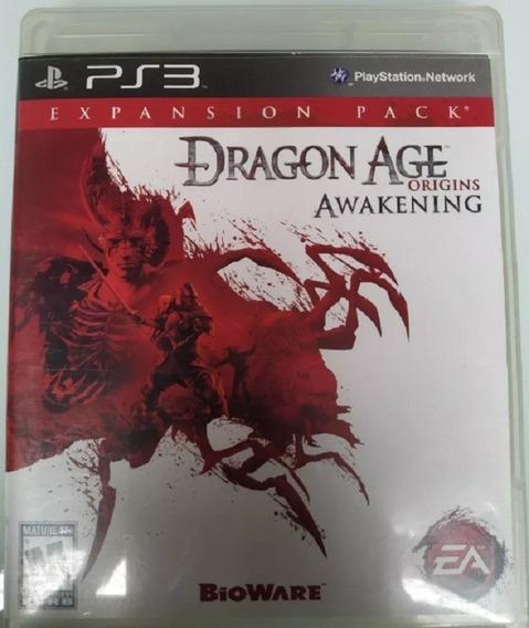 Dragon Age Awakening Expansion Pack Ps3 Mídia Física Lacrado