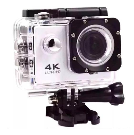 Action Mini Câmera Wi-fi Esporte 4k Full Hd 16mp + Suporte