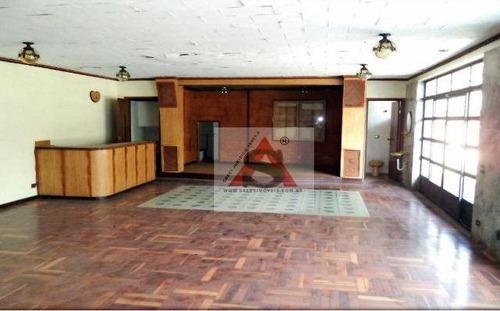 Sobrado Com 3 Dormitórios, 540 M² - Venda Por R$ 2.500.000,00 Ou Aluguel Por R$ 6.000,00/mês - Vila Cordeiro - São Paulo/sp - So3761