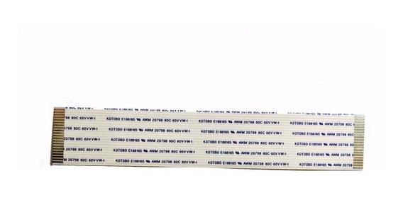 Flat Cable 21 Vias 1mm 12 Cm - Kit 3 Pçs