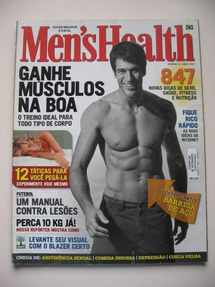 Revista Men´s Health - Nº 12 - Ganhe Músculos Na Boa
