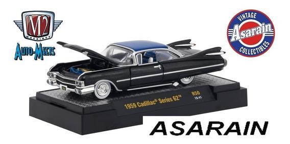 M2 Auto Meets R50 1959 Cadillac Series 62 - 1/64