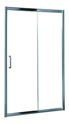 Mampara Baño Ducha 2 Hojas 110 X 185 Vidrio Incoloro