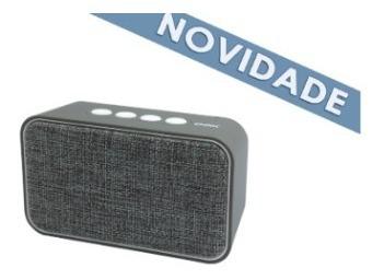 Speaker Bluetooth 10w Weave Sk407 Cinza Oex