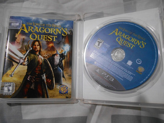 The Lord Of The Rings Aragorns Quest Señor De Los Anillo Ps3