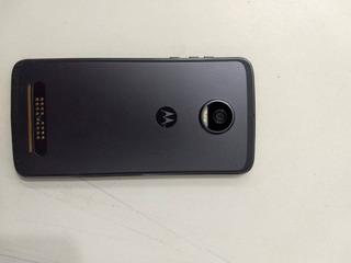Motorola Moto Z2 Play Xt1710 64gb + Snap Projetor, Som, Bat.