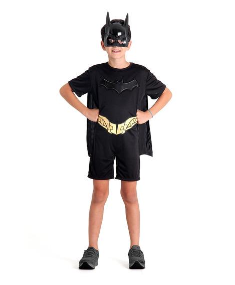 Fantasia Infantil Dc Comics Batman Curta Sulamericana