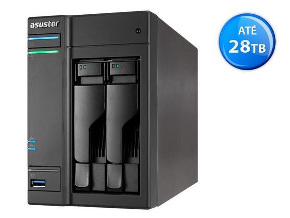Sistema De Backup Nas Asustor As6302t Intel Dual Core J3355