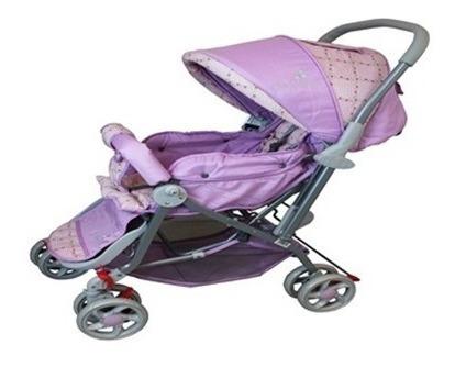 Carrinho De Passeio Bebê Reversivel E Vira Berço