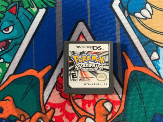 Jogo Pokemon Platinum 100% Original Nintendo Ds / Dsi / 3ds