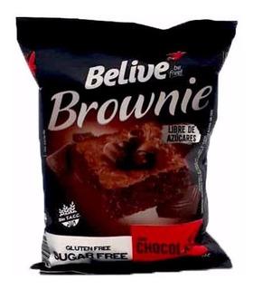 Brownie Belive Libre De Azucar Sabor Chocolate X40grs
