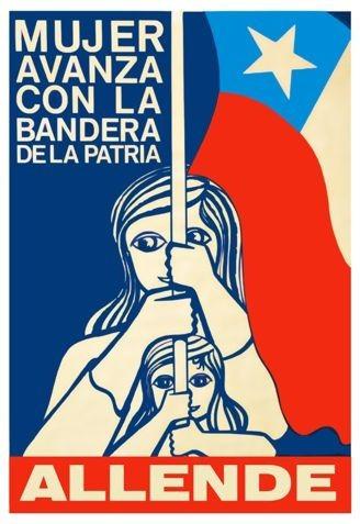 Reproducción Afiche Chileno 1972