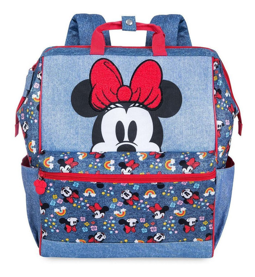 Mochila Minnie Mouse Escolar School Original Disney Store