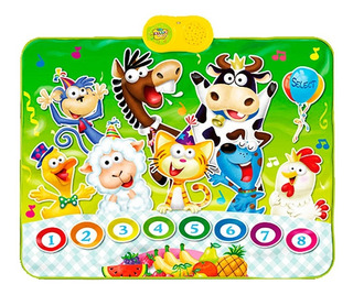 Alfombra Musical Animal Party Zippy Toys