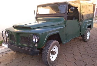 Ford Willys Militar F-85 Cachorro Louco