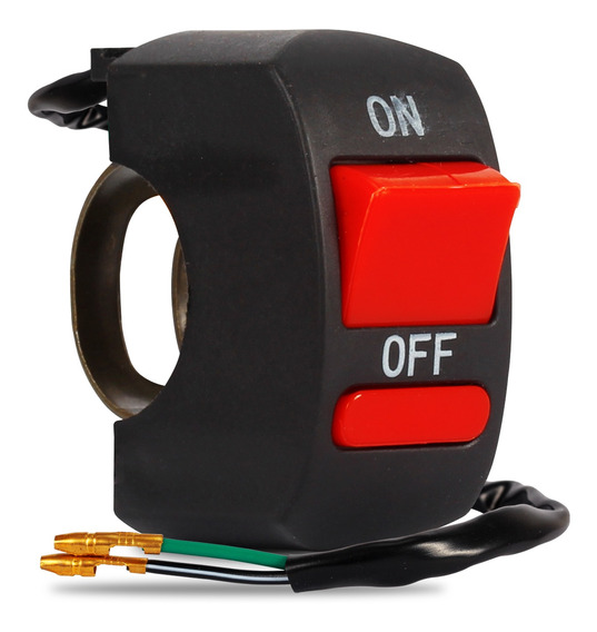Botão Interruptor On Off Farol De Auxiliar Milha Moto U7 U11