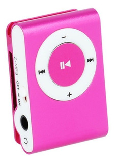 Reproductor Mp3 Clip Hasta 32 Gb Auriculares Cable Caja
