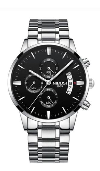Relógio Nibosi Original Frete Grátis Pronta Entrega 2309