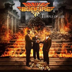 Bonfire-temple Of Lies(hard Clássico Alemão/álbum De 2018)